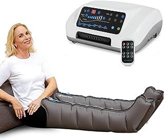 Venen Engel 6 aparato de masajes con botas, 6 cámaras de aire desactivables, presión y tiempo fácilmente configurables, 6 programas de masaje