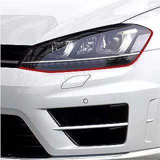 Protector de pantalla para faros con dise/ño de ojos malvados para Mercedes Clase C W204/W205/CL204/AMG Finest Folia
