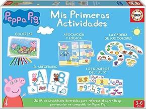 Educa-Mis Primeras Actividades Peppa Pig: Colorear, asociación, abecedario y los números Juego Educativo para niños, a Partir de 3 años (17249)