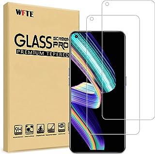 WFTE [2-pack skärmskydd för OPPO Realme GT Neo 5G, anti-repa, hög transparens, anti-fingeravtryck, bubbelfri, dammfritt pr...