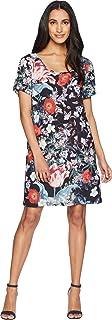 MINKPINK Women's Botanica Placement Printed Woven Tee Dress