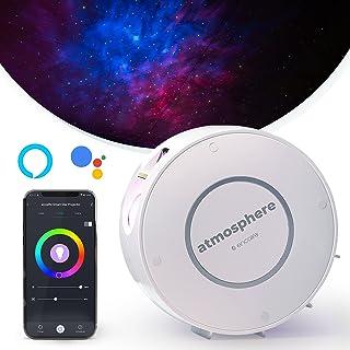 پروژکتور Star Light Galaxy برای اتاق خواب | الکسا ، دستیار Google ، برنامه کنترل شده ، روشنایی قابل تنظیم ، گزینه های رنگی 16.7 متر ، حالت های تایمر | ابرهای سحابی پرستاره ، آسمان شب برای کودکان
