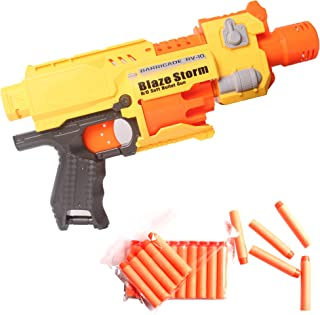Coolgun Semi-Automatic Blaster Guns Toy Guns for Boys Girl with 10 Pack Refill Soft Foam Darts for Kids Christmas Birthday Gifts Party Supplies Hand Gun Toys for 5 6 7 8 9 10 11 12 13 14 Year Old Boys