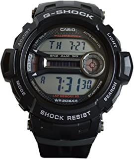 Casio G-Shock Grey Digital Dial Plastic Strap Men's Watch GD2001DR