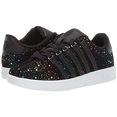 K-Swiss Classic VNtm (Little Kid) (Black/Rainbow) Athletic Shoes