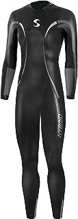 Synergy Triathlon Wetsuit - Women's Hybrid Fullsleeve Smoothskin Neoprene for Open Water Swimming Ironman & USAT Approved