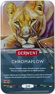 أقلام ألوان ديروينت كرومافلو، متعددة الألوان، جودة احترافية، عبوة من 24 قطعة (2305857)
