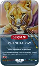 Derwent Chromaflow Colored Pencils | Art Supplies for Drawing, Sketching, Adult Coloring | Premier, Strong Soft Core Multi...