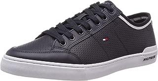 Tommy Hilfiger Erkek Core Corporate Leather Sneaker Spor Ayakkabı
