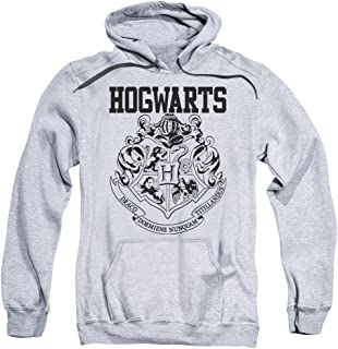 Trevco Harry Potter Hogwarts Athletic Unisex Adult Pull-Over Hoodie for Men and Women