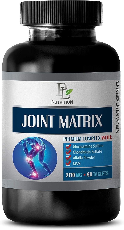 Ranking TOP10 Bones Vitamins for Men - Joint 2170 Popular standard MG Premium Matrix Complex