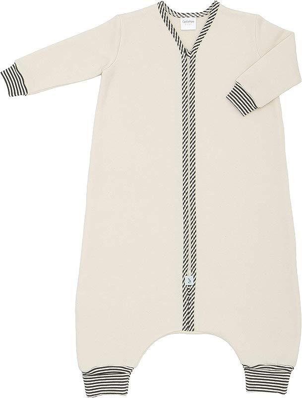 CastleWare Baby Sleeper Bag For Walkers Organic Cotton Fleece Long Sleeve 12 Months 3T