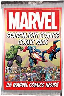 25 Marvel Comic Bundle + Bonus Searchlight Comics Sticker