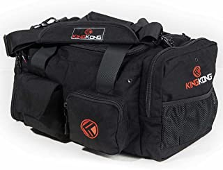 "Junior Kong Original Nylon Gym Bag - Heavy Duty and Water-Resistant Duffle Bag - Military Spec Nylon- Heavy Duty Steel Buckles - 18"" x 11"" x 11"""