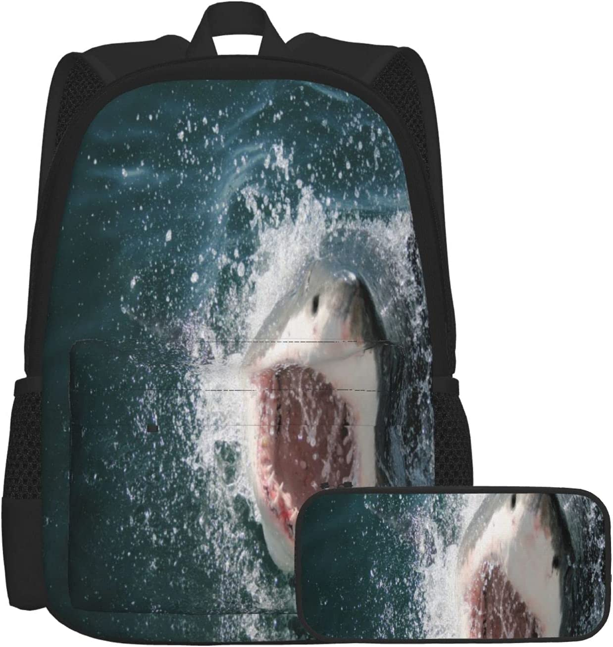 Sales for sale School Backpack Wild Animal In Sea Showing New item The Mou Attacking