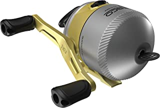 Zebco 33 Gold Spincast Fishing Reel, 3 Ball Bearings, Instant Anti-Reverse with a Smooth Dial-Adjustable Drag, Powerful All-Metal Gears with a Lightweight Graphite Frame, New Model