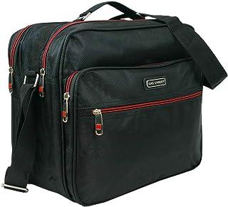 Bag Street Men's Flight Attendant Work Bag Durable Nylon Black