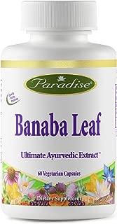 Paradise Herbs Banaba Leaf Vegetarian Capsules, 60 Count