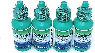 Refresh Tears Lubricant Eye Drops - 0.5 Fl. Oz (4 Count)