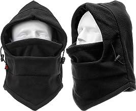Boao 2 Pack زمستان اسکی ماسک Balaclava ضد باد ماسک اسکی صورت کامل ماسک صورت گردن گرمتر محافظ گوش محافظت از زمستان کلاه ورزشی برای خانمها اسنوبرد دوچرخه سواری کمپینگ شکار کلاه کوهنوردی