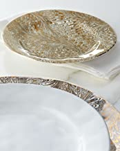 Juliska Firenze Medici Dessert/salad Plate Gold/platinum