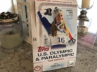 topps 2018 olympics