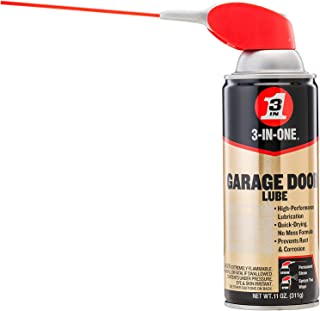 3-IN-ONE Professional Garage Door Lubricant with SMART STRAW SPRAYS 2 WAYS, 11 OZ