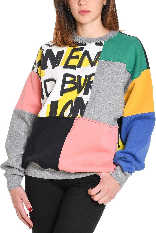 BURBERRY Women's 8002930 Multicolor Cotton Sweatshirt
