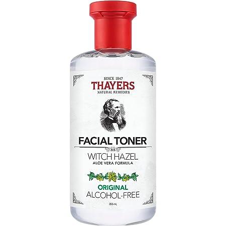 THAYERS Alcohol-Free Original Witch Hazel Facial Toner with Aloe Vera Formula, 12 Ounce