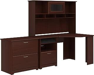 realspace magellan corner desk and hutch bundle