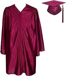 Unisex Kindergarten Graduation Shiny Gown Cap with 2019 Tassel Year Charm