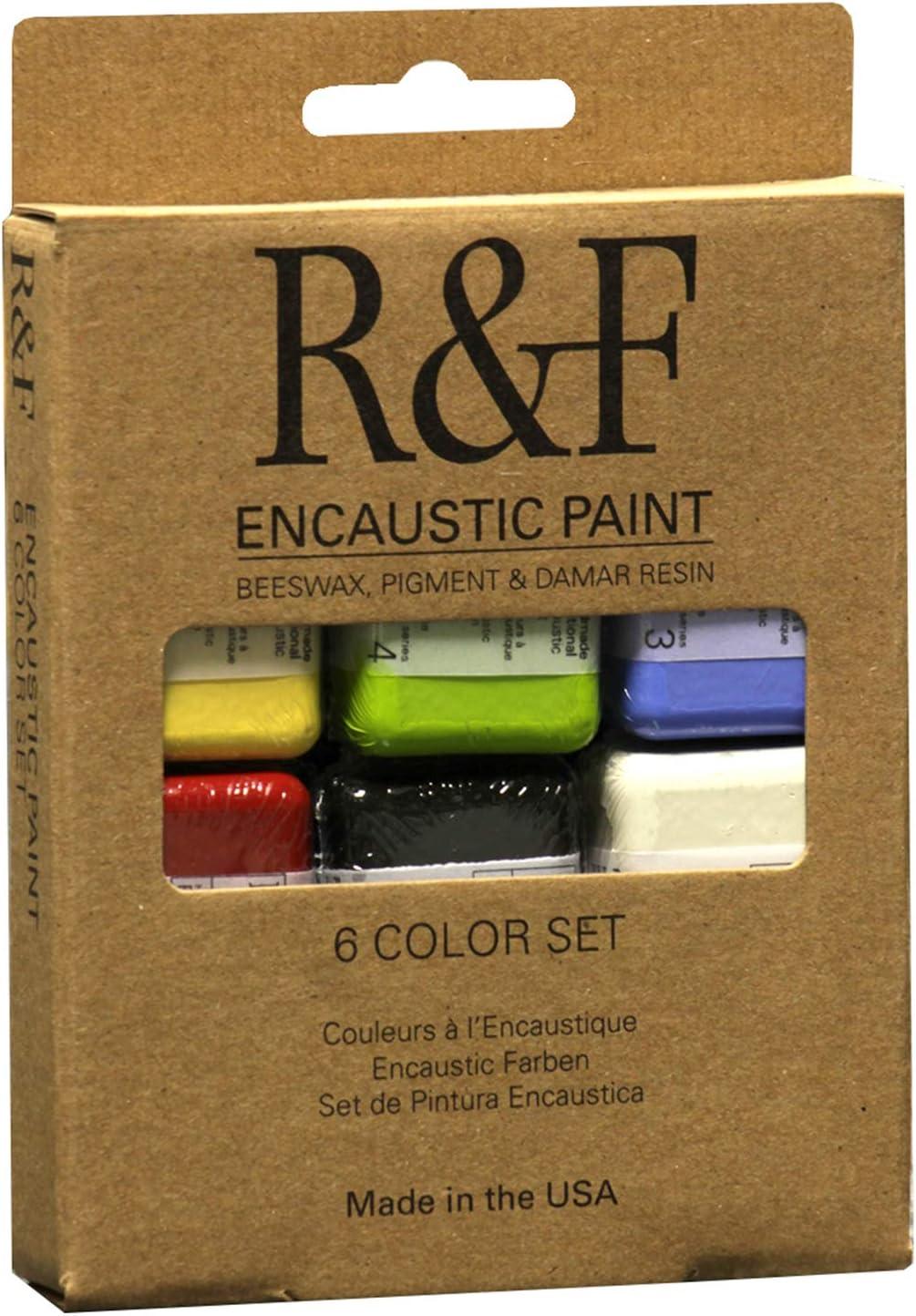 The Ultimate Blue Paint Set Encaustic Wax Paint by Wizart Colors