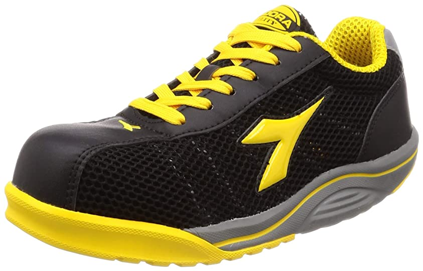 ラウズドル幻想的[ディアドラユーティリティ] 安全作業靴 JSAA認定 高通気 メッシュ プロスニーカー WATERFOWL ウォーターフォール WF252