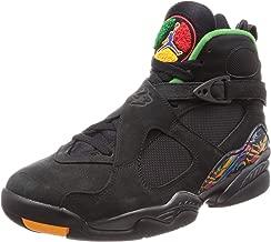 Jordan Nike Men's Air 8 Retro Black/Aloe Verde 305381-004