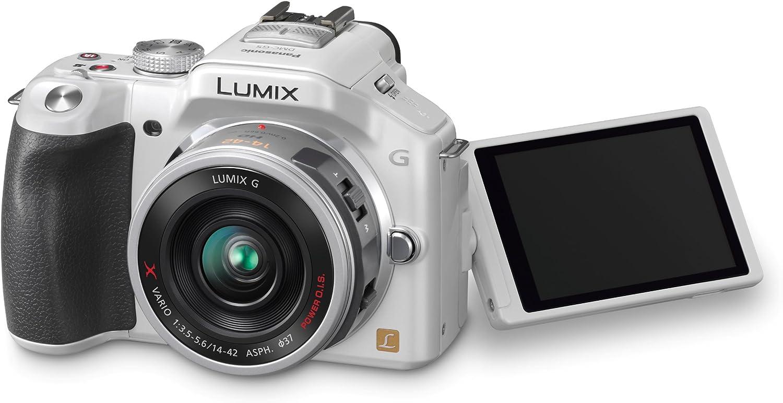 Panasonic Lumix Dmc G5xeg W Systemkamera 3 Zoll Weiß Kamera