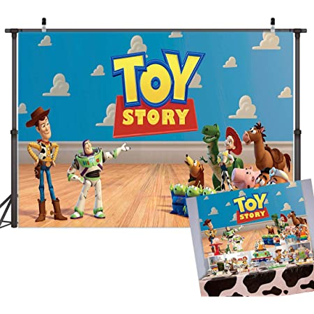 It/'s A Boy Story Backdrop Banner Digital Download or Printed and shipped