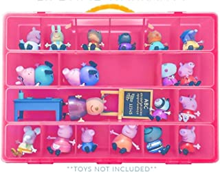 Life Made Better Toy Organizer with Carrying Handle, Fits Up to 40 Figures and Compatible