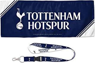 WinCraft Bundle 2 Items: Tottenham Hotspur 1 Cooling Towel 12x30 inches and 1 Lanyard