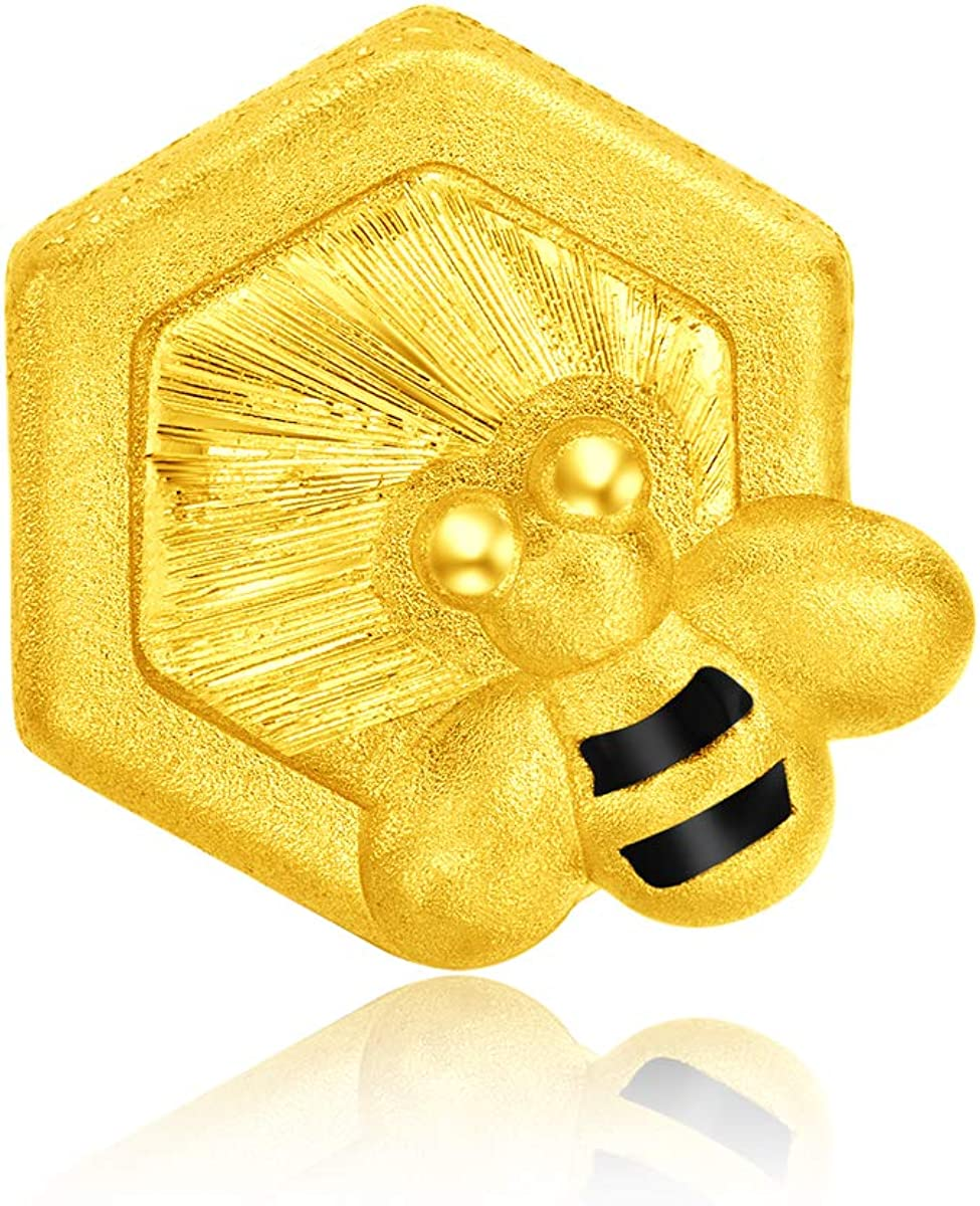 CHOW TAI FOOK 999 Phoenix Mall Pure Superior 24K Charms Creatures Gold The Adorable