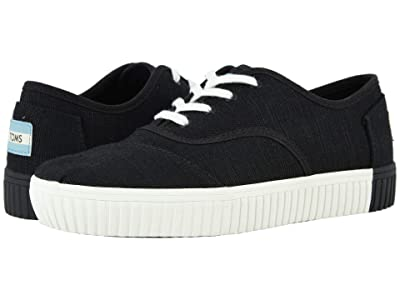TOMS Cordones Indio (Black) Women