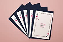 Pack de 5 cartes à gratter | Annonce sexe bébé | Baby shower | C'est un garçon