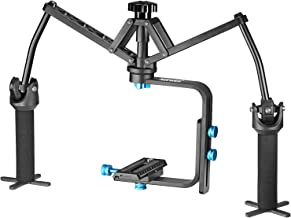 Neewer Portable Handheld Mechanical Stabilizer Joint Bearing Aluminum Alloy Construction for Canon Nikon Sony and Other DSLR Cameras DV Recorders Camcorders up to 13 pounds/6 kilograms