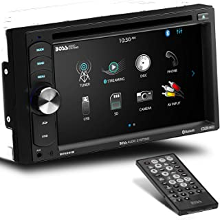 BOSS Audio Systems BV9351B Car DVD Player - Double Din, Bluetooth Audio and Calling, 6.2 Inch LCD Touchscreen Monitor, MP3...