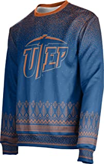 ProSphere The University of Texas at El Paso Ugly Holiday Unisex Sweater - Blizzard