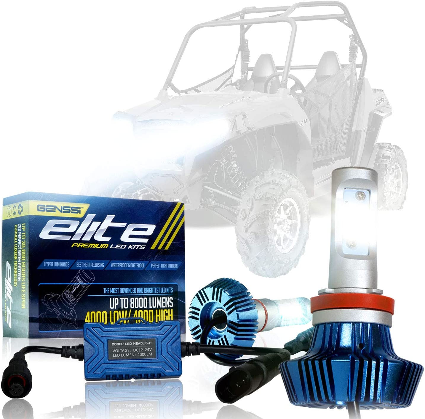 LED Conversion In a popularity Indefinitely Bulbs Lamp Kit with Compatible Ranger Polaris RZR