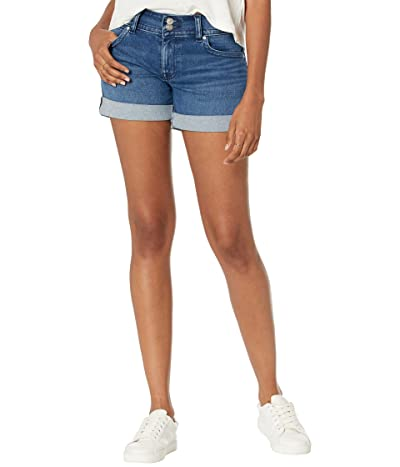 Hudson Jeans Croxley Mid Thigh Shorts in Celia