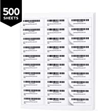 Buhbo 30-UP FBA Product Sticker Labels 1