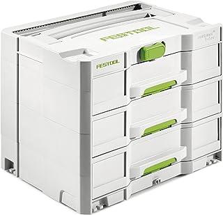 Festool SYS 4 TL-SORT/3 200119 Systainer Box, Grey