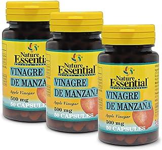 Vinagre de manzana 500 mg. 50 capsulas (Pack 3 unid.)