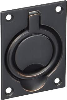 Baldwin 0395112 Flush Ring Pull, Aged Bronze